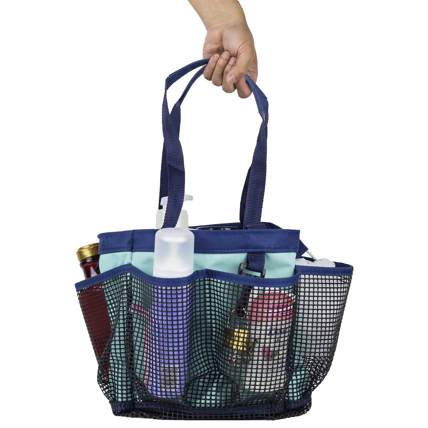 Portable Mesh Shower Caddy Tote for College Dorm